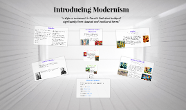 Copy of Introducing Modernism