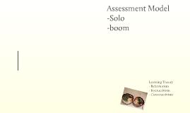 Assessment - Pedagogical theory