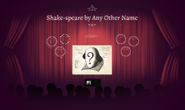 Shake-speare by Any Other Name