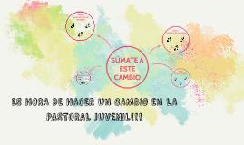Propuesta pastoral juvenil