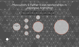 Masculinity & Father & son relationships in Japanese Animati
