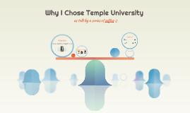 Why I Chose Temple University