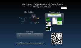 Managing Organizational Complexity Through Visual Models