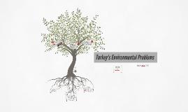 Turkey's Environmental Problems
