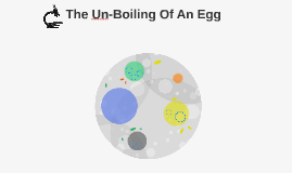 The Un-Boiling Of An Egg