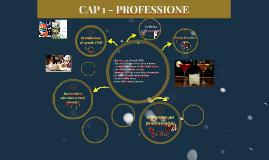 CAP. 1 PROFESSIONE