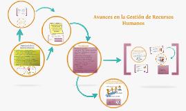 Avances en la Gestion de Recursos Humanos