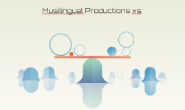 Musilingual Productions xs