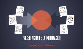 Presentación de la Información 2