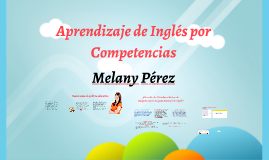 Copy of Aprendizaje de Inglés por Competencias