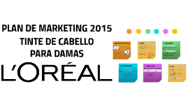 PLAN DE MARKETING LOREAL