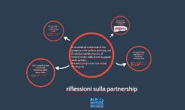 riflessioni sulla partnership