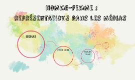 Homme-Femme : représentations dans les médias (2015)