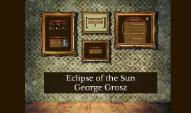 Eclipse of the Sun 1920s Art Presentation