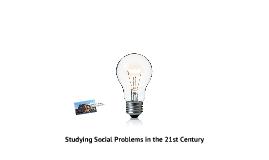 Social Problems: Ch. 1