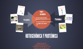 nutrigenomica