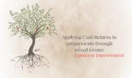 Mixed Invoice - process improvement SE&E