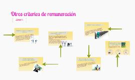 Copy of Otros criterios de remuneración