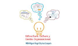 Estructura, Cultura y Cambio Organizacional