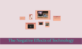 The Negative Effects of Technology