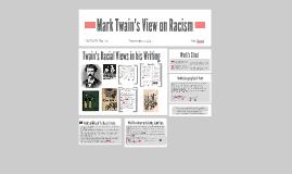 Mark Twain Racism