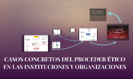 Copia de CASOS CONCRETOS DEL PROCEDER ÉTICO EN LAS INSTITUCIONES Y OR