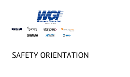 WGI New Employee Orientation