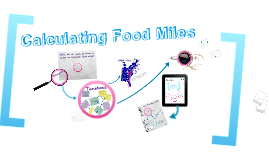 Calculating Food Miles