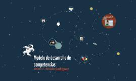 Copy of Modelo de desarrollo de competencias