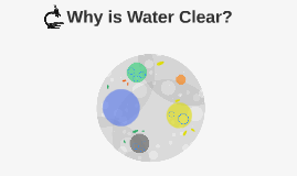 Why is water clear?