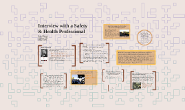 Interview with a Safety