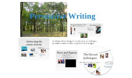 Copy of Persuasive Writing - Go on, Write it.