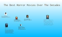 60s and up best horror movies