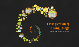 Copy of Classification of Living Things