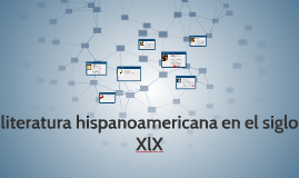 literatura hispanoamericana en el siglo XlX