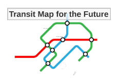 A transit map for the future
