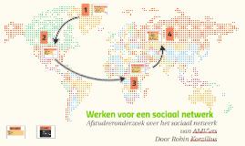 Werken voor een sociaal netwerk