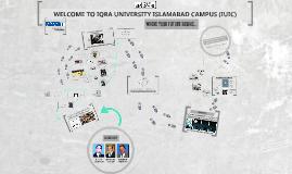 AN ORIENTATION REGARDING IQRA UNIVERSITY ISLAMABAD CAMPUS (I