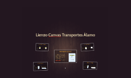 Lienzo Canvas Transportes Álamo