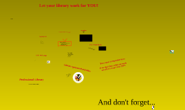 Your Library Media Center