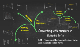 Converting with numbers in Standard Form