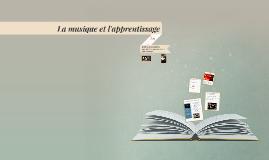La musique et l'apprentisage