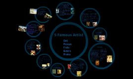 Copy of 5 famous artist!