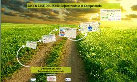 GREEN CARE DEL PERÚ: Enfrentando a la Competencia