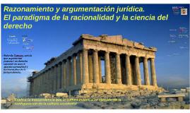 Razonamiento y argumentación jurídica.