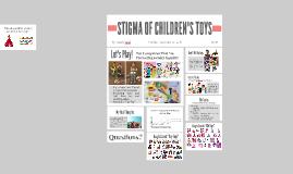 STIGMA OF CHILDREN'S TOYS