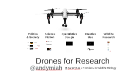 Drones for Wildlife Biology
