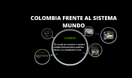 Copy of COLOMBIA FRENTE AL SISTEMA MUNDO
