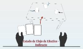 Estado de Flujo de Efectivo - Indirecto