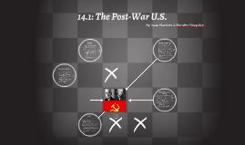 14.1: The Post-War U.S.